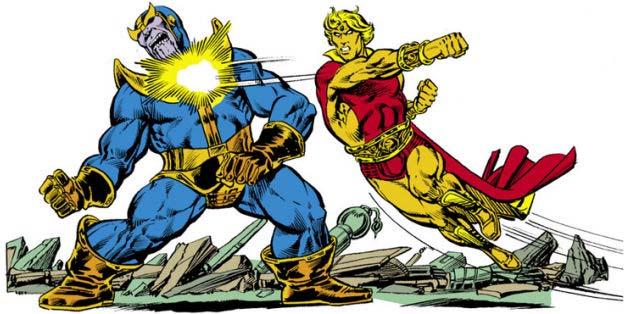 Marvel супергерои комиксы история