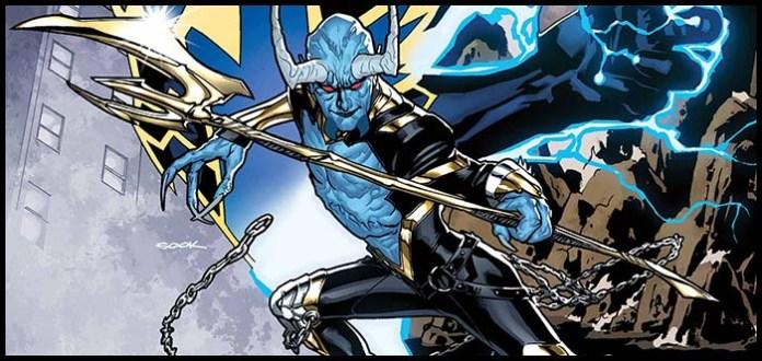 Синий Дьявол комикс