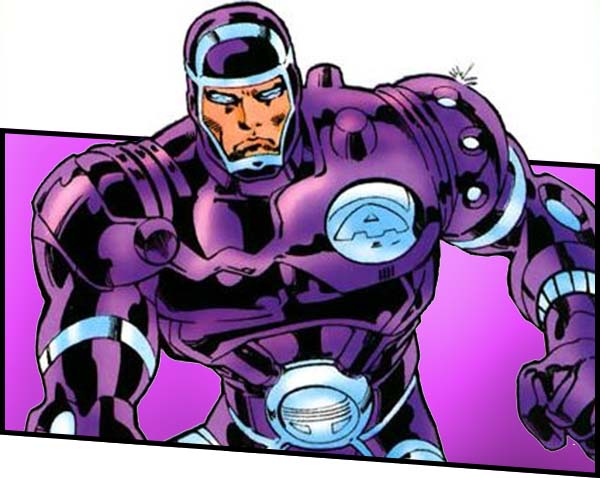 Человек-машина marvel комиксы