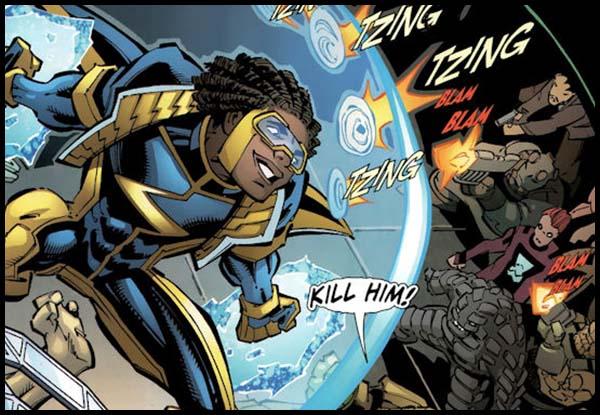 Статик DC комиксы