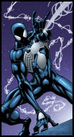 Чёрный костюм Человека-Паука