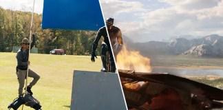 До и после спецэффектов: Чёрная Пантера