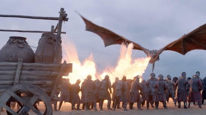 игра престолов дракон спецэффекты