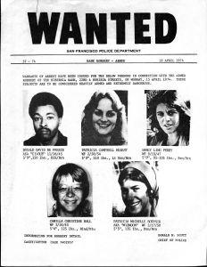 "Patricia ""Patty"" Hearst Symbionese Liberation Army"