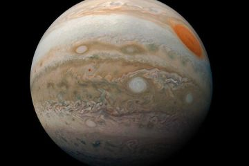 Jupiter, the largest planet is our solar system