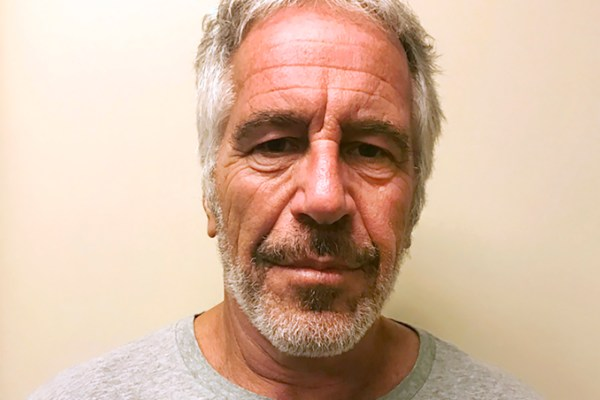 Jeffery's Epstein mug shot