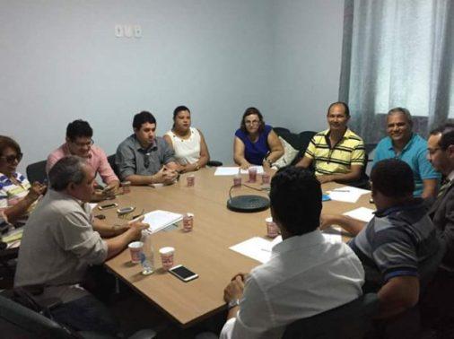Primeira reunião com equipe de transiçao
