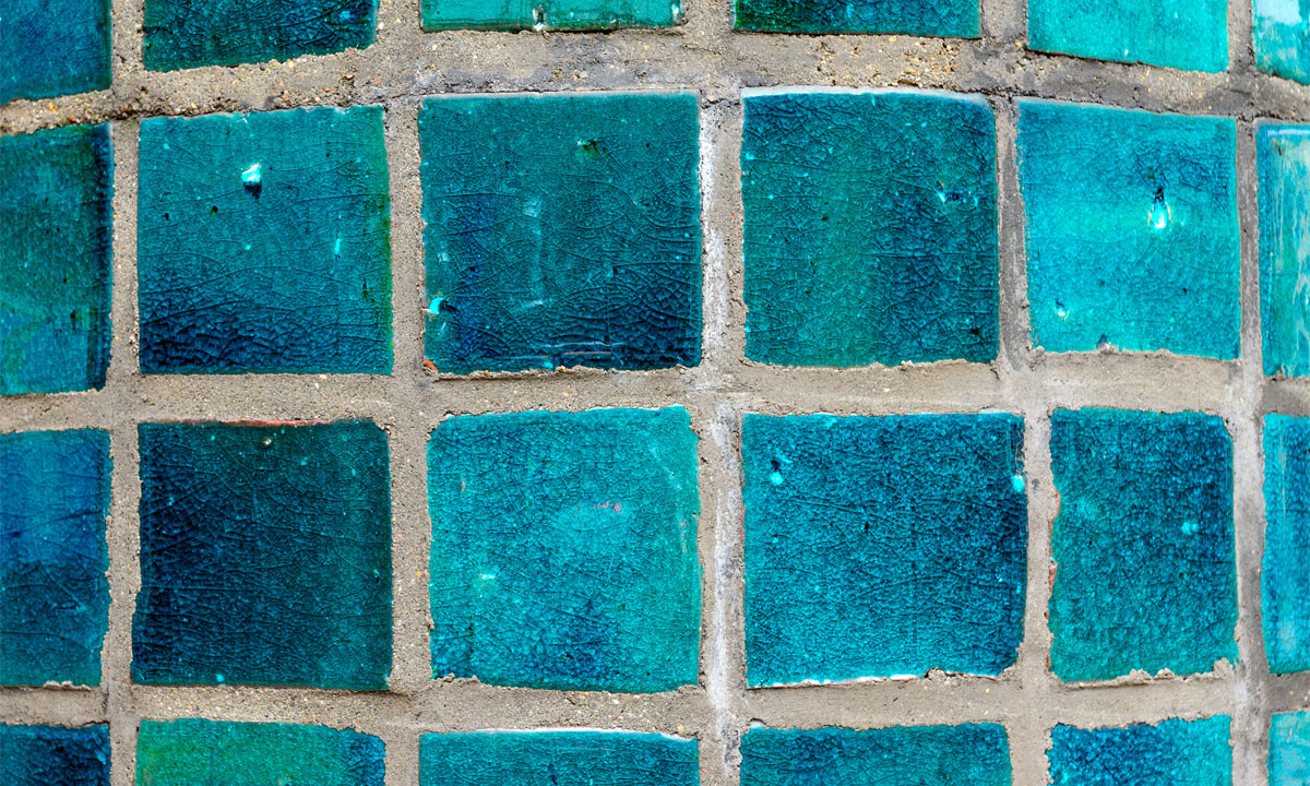 how to remove calcium from pool tile
