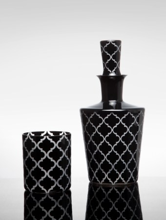 Arabesque Color Middle Double Old Fashioned and Barware Deca