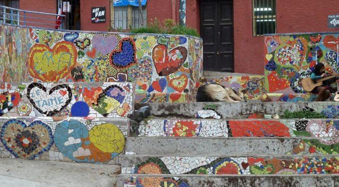 Escalier de Valparaiso