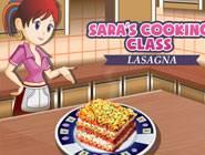 ecole de cuisine sara lasagnes