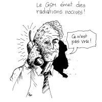 Le GSM émet des radiations nocives (cartoon)