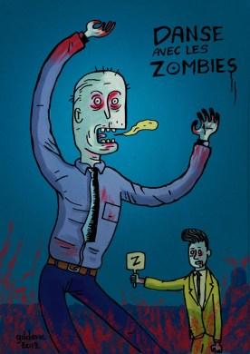 Danse avec les Zombies - Dessin de Gilderic
