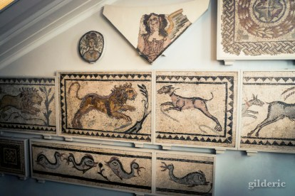 Mosaïques romaines (British Museum, Londres) - Photo : Gilderic