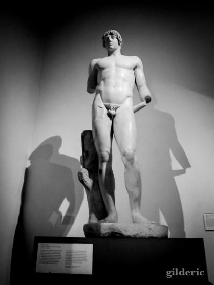 Statue grecque (British Museum, Londres) - Photo : Gilderic