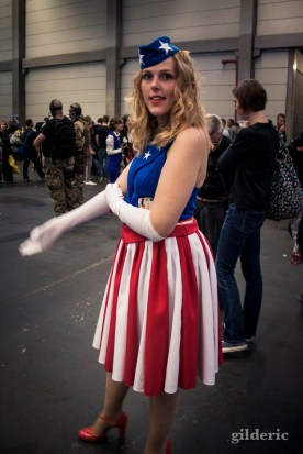 FACTS 2014 Cosplay : Miss Captain America