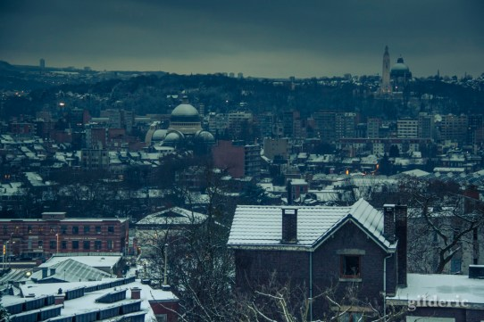 Winter Blues (Liège dans la neige) - Photo : Gilderic