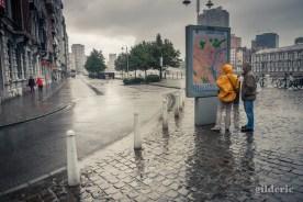 Un 15 août sous la pluie (Liège)