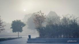 Brume et mystère à Liège-Guillemins