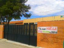 Puerta del IES Silena