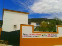 Puerta del CEIP Maestro Juan Corrales