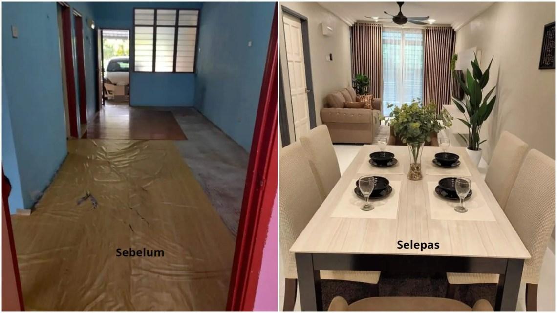 Ubahsuai Rumah Teres Kelihatan Mewah Dan Cantik Seperti Banglo Tak Susah Pon Giler Deco