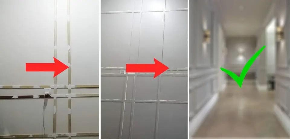DIY Wainscoting Dinding Rumah