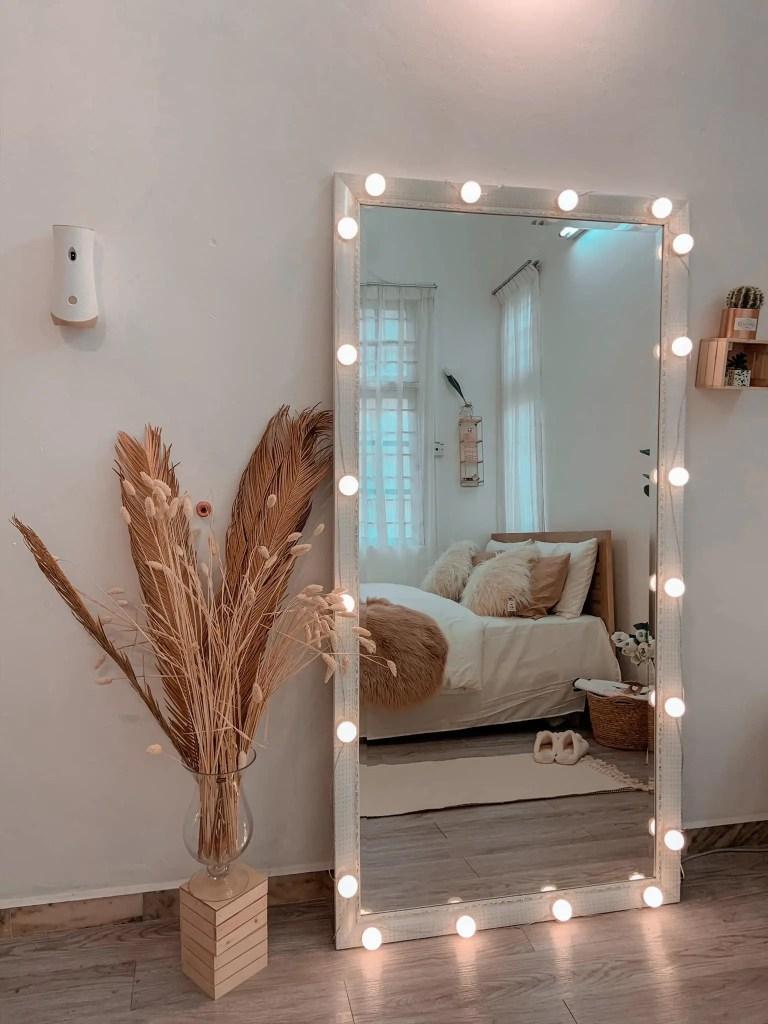 deko bilik tidur kecil simple