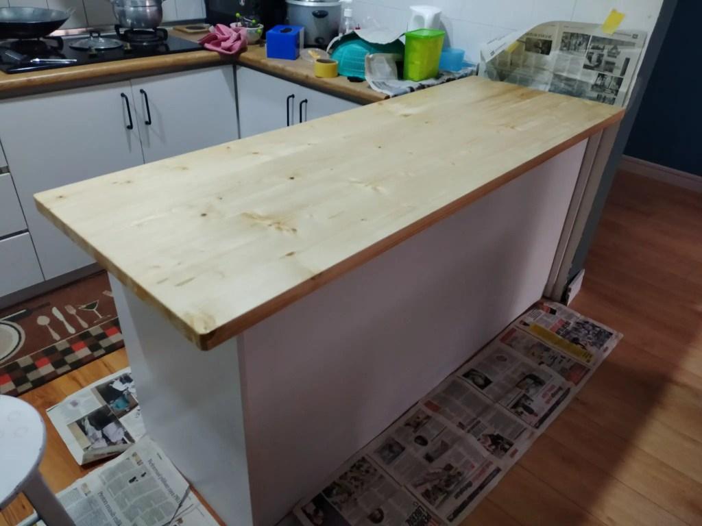 DIY counter bar