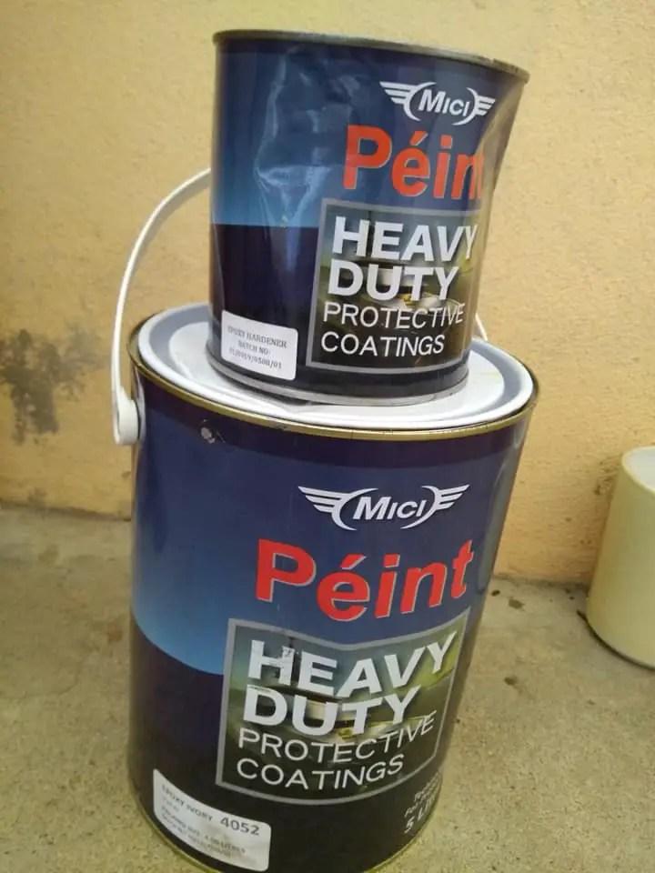 cara menggunakan cat epoxy