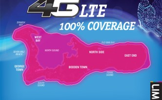 LIME Cayman 4G LTE Coverage