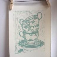 Anna Pettigrew teacups