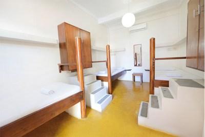 3 Bed Dorm Room