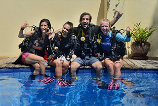 Find out how to learn to dive