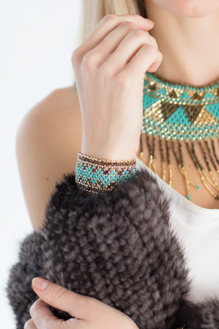 Bracelet MAYA tricolore