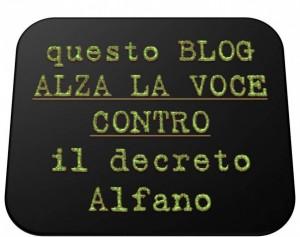 Contro il decreto Alfano