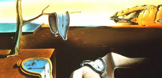 Time, as distorted by the wonderful Mr. Dali