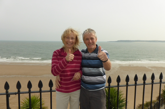 Paul and Denise from Cardiff