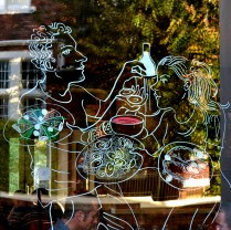 Guildford Arms Dining Room Window