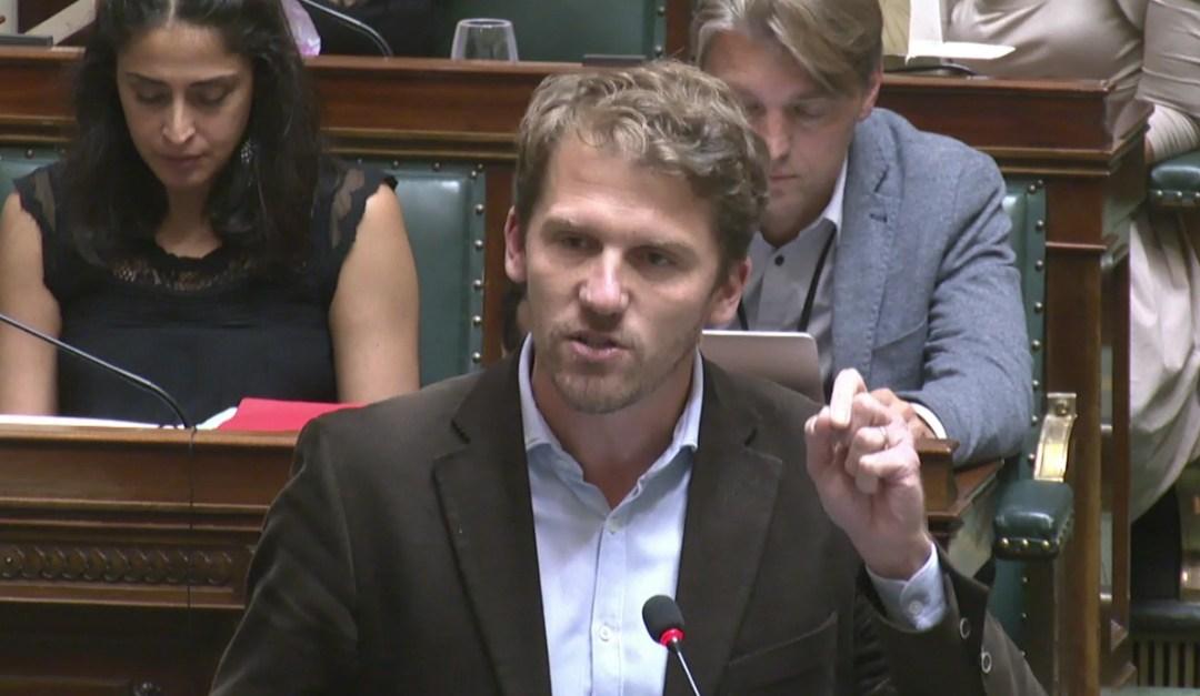 Interpellation au Parlement d'Alexander de Croo sur Proximus (VIDÉO)