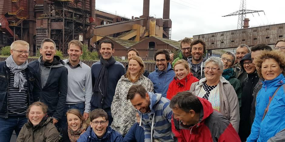 Mise au vert à Charleroi pour Ecolo