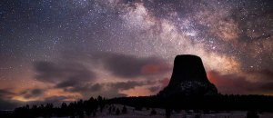 Devils tower stars