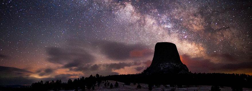 Devils tower stars