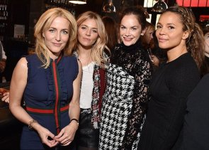 with Sienna Miller, Ruth Wilson and Carmen Ejogo