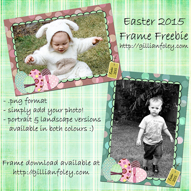 Easter Frame Freebie for Jills