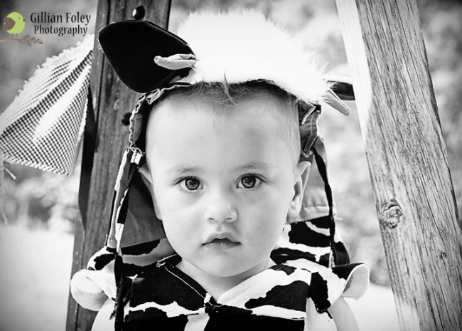 A cutie patootie turned one | Gillian Foley Photography
