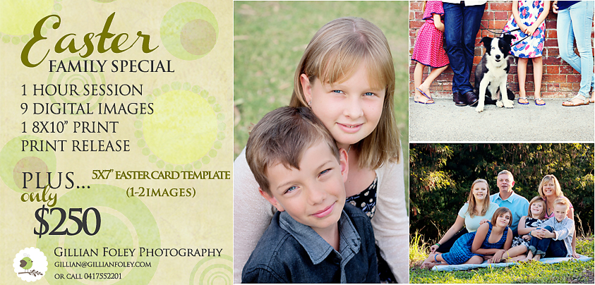 2016 Easter Family Special | Gillian Foley Photography