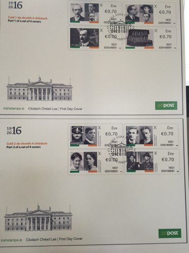 1916 stamps in the GPO