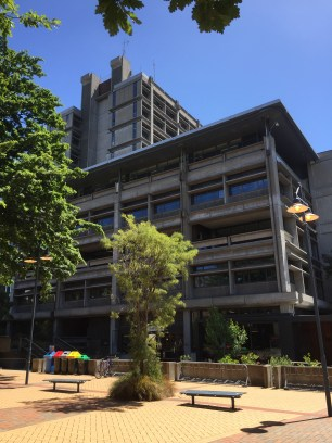 Puaka James Hight building aka the Central Library