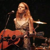 Gillian Welch. Hardly Strictly Bluegrass Festival, Golden Gate Park.